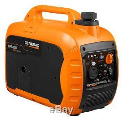 Generac GP3000i 3,000-Watt Gas Powered Recoil Start Inverter Generator 7129