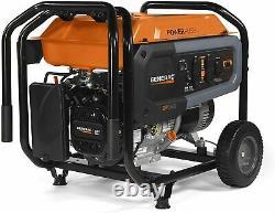 Generac GP6500 8,125-W Quiet Portable RV Ready Gas Powered Generator Home Backup