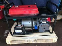 Gillette GPE-125EH-3-2 Honda Powered Gas 3-phase 12500 Watt Portable Generator