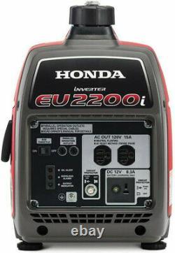 Honda 2200-W Super Quiet Portable Gas Powered Inverter Generator Home RV Camping