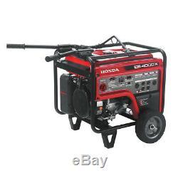 Honda 4,000 Watt Quiet GFCI Portable Gas Powered Backup Home Generator EB4000x