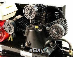 Honda 6.5-HP 10-Gallon 135-Psi Gas-Powered Belt Drive Air Compressor MP-6510G