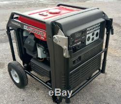 Honda EB5000i 5000 Watt Portable Quiet Inverter Parallel Gas Power Generator 75H