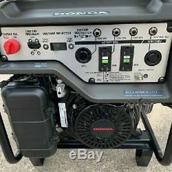 Honda EG6500CL Generator Portable DAVR Gas Power Camping RV EG6500 withWheels