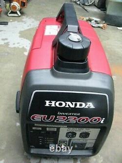 Honda EU2200i 2200-Watt Super Quiet Gas Powered Portable Inverter Generator