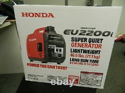Honda EU2200i 2200-Watt Super Quiet Gas Powered Portable Inverter Generator NEW
