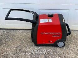 Honda EU3000i Portable Quiet Inverter Gas Power Generator