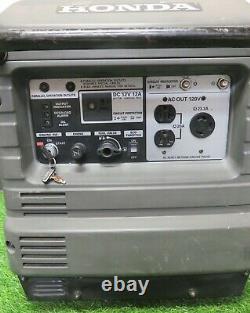 Honda EU3000is 3000 Watt Portable Quiet Inverter Parallel Gas Power Generator