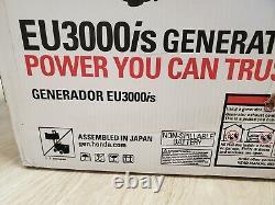 Honda EU3000is Inverter Generator Portable Gas Powered original sealed new