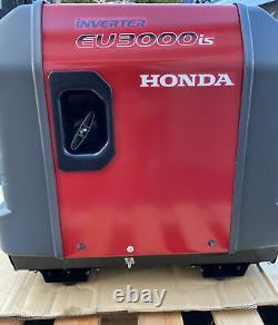 Honda EU3000is Portable Gas Powered Generator Inverter