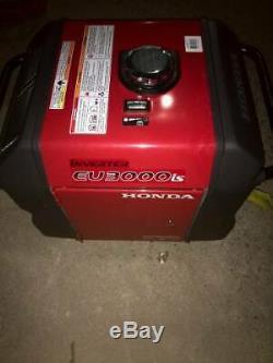 Honda EU3000is Portable Quiet Inverter Parallel Gas Power Generator