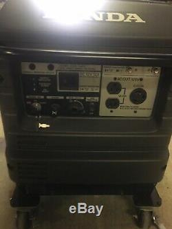 Honda EU3000is Portable Quiet Inverter Parallel Gas Power Generator EUC LowHours