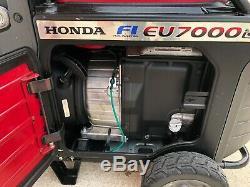 Honda EU7000IS 7000 Watt Portable Quiet Inverter Gas Power Generator 995 Hours