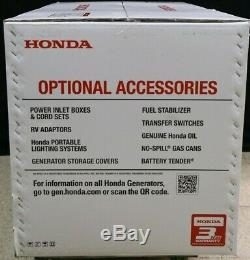 Honda EU7000IS 7000 Watt Portable Quiet Inverter Gas Power Generator Brand New