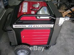 Honda EU7000IS 7000 Watt Portable Quiet Inverter Gas Power Generator Camping