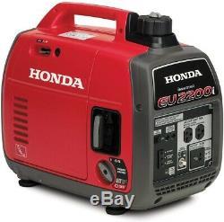Honda Eu2200i 2200W Gas Powered Portable Inverter Generator Free Shipping