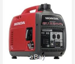 Honda Eu2200i Gas Powered Inverter Quiet Generator Fast Shipping NO RESERVE