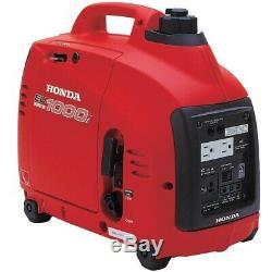 Honda Power Equipment EU1000I 1000W 120V Portable Home Gas Power Generator