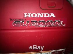 Honda Power Equipment EU2000I 2000W Portable Gas Generator