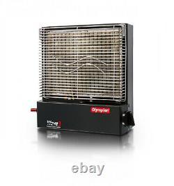 LP Gas Catalytic Safety Heater 3000 BTU Freestanding Portable Propane RV Wave-3
