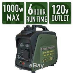 NEW BOXED Sportsman 1000-Watt/800Watt Gas Power Portable Inverter Generator CARB