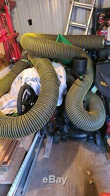 NIKRO HP20GAS Portable Gas Powered Air Duct Cleaning System (20 HP)