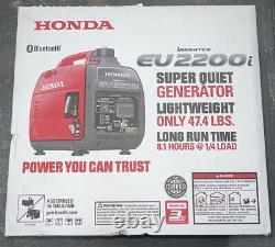 New Honda EU2200iTAG Bluetooth Portable Gas Powered Generator Inverter