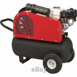 NorthStar Portable Gas-Powered Air Compressor 20-Gal Hor Tank 13.7 CFM @ 90 PSI