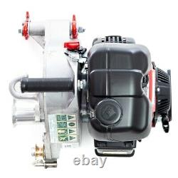 PCW5000 Portable Gas Powered Winch 2200lb pulling power operated by GXH50 HONDA