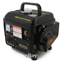 Portable Gas Generator 1200W Emergency Home Back Up Power Camping Tailgating