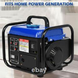 Portable Gas Generator 1200W Emergency Home Back Up Power Camping Tailgating BL