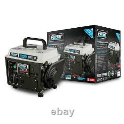 Portable Gas Generator Camping Rv Power Electric Small Quiet Gasoline Powered