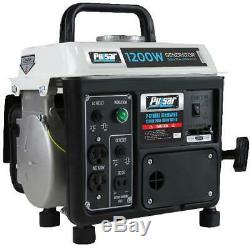 Portable Gas Generator Power Electric RV Camping Small Quiet Gasoline Powered