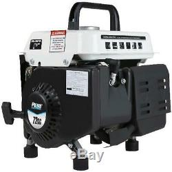 Portable Gas Generator Power Electric Small Quiet Gasoline Powered RV Camping