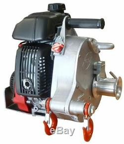 Portable Gas-Powered Capstan Winch PCW5000-HS High Speed