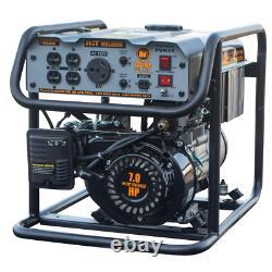 Portable Generator Stick Welder Mild Dual Fuel Powered Gasoline Hard Surfacing