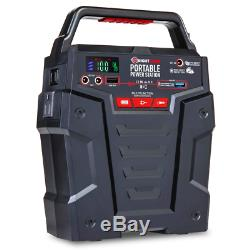 Portable Power Station 155Wh Gas Free Generator Rechargeable by Solar Panel, W