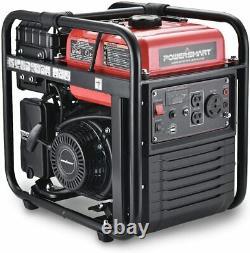 PowerSmart 4,400-W Super Quiet Portable RV Ready Gas Powered Inverter Generator