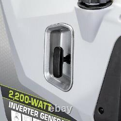 PowerSmith Portable 2200 Watt 1 Gallon Gas Power Inverter Generator (Used)