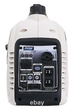 Pulsar G2319N 2300-W Super Quiet Portable Gas Powered Inverter Generator Home RV