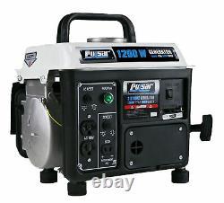 Pulsar PG1202SA 1200 Peak Watt, 900 Running Watt Portable 2-Cycle Gas Powered