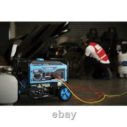 Pulsar Portable Generator 5,250/4,250-Watt Dual Gas/Propane Power Recoil Start