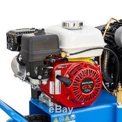 Puma 8 Gallon Gas Powered Air Compressor with Honda Engine Wheel Barrow Style