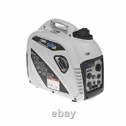 Quipall 2200-W Portable Gas Powered Inverter Generator Super Quiet & Lightweight