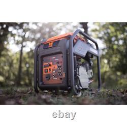 RV-Ready 4000-Watt Gas-Powered Open Frame Inverter Generator, CARB Compliant