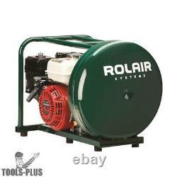 Rolair GD4000PV5H 4HP 4-1/2G Gas-Powered Hand Carry Air Compressor OB