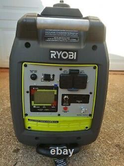 Ryobi RYI2300BTA 2300-Watt Gasoline Powered Bluetooth Inverter Generator
