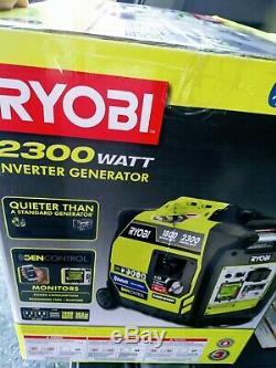 SEALED RYOBI 2300W BLUETOOTH GAS-POWERED INVERTER GENERATOR RYi2300BTA BRAND NEW