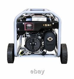 Simpson 4,500-Watt Portable Gas Powered Generator with Wheel Kit Home RV Camping