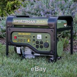 Sportsman 4000-W 7HP Portable RV Ready Gas Powered Generator Home Backup Camping